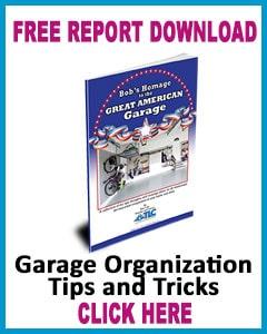Garage Organization Tips & Tricks Banner